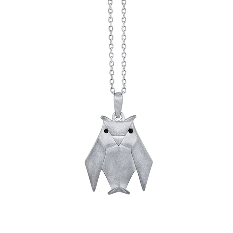 Greenberg's sterling silver origami owl pendant