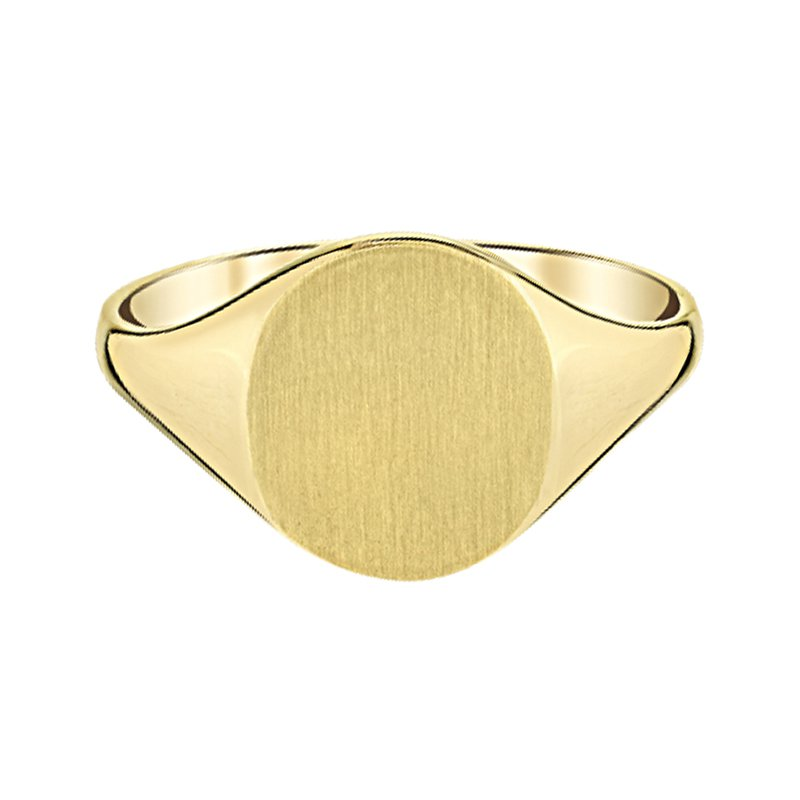 Greenberg's 14k yellow gold ladies fashion ring
