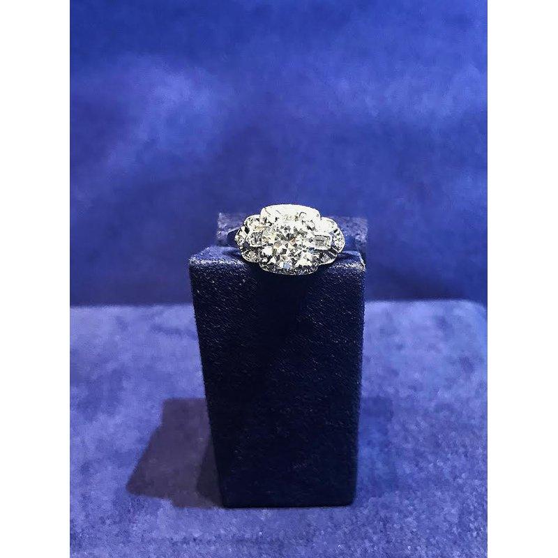 Bradley Gough Diamonds Estate Vintage Diamond Engagement Ring