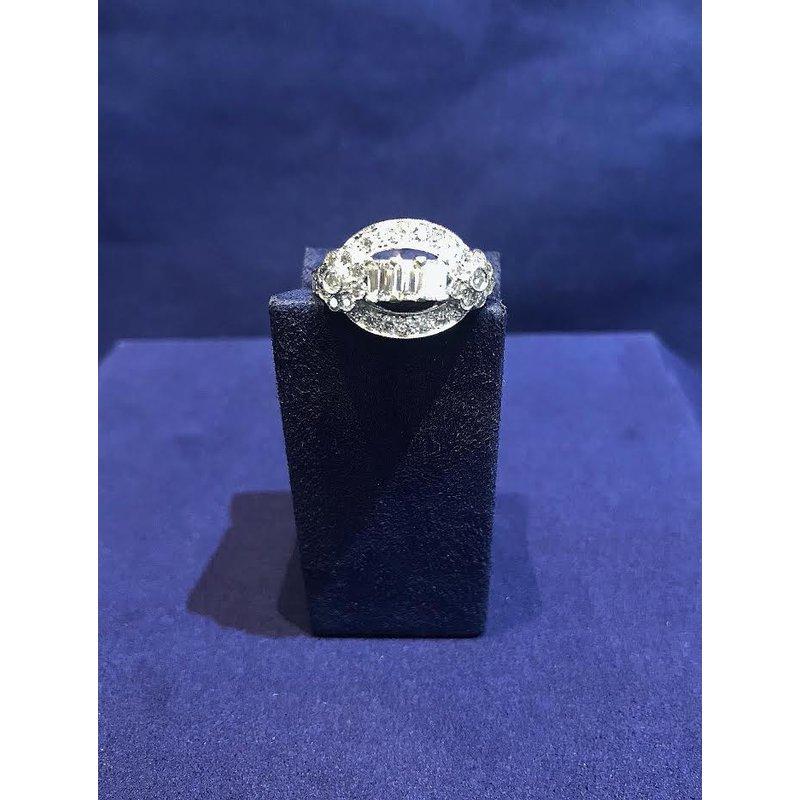 Bradley Gough Diamonds Estate Vintage Open-Arch Diamond Ring