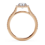 """Our Top 20 Bridal Picks Forevermark """"Center of My Universe"""" Round Halo Engagement Ring"""