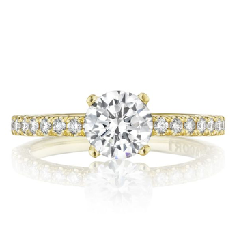 Tacori Pette Crescent Engagement Ring