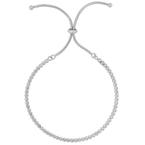 As Seen on Social Media Sterling Silver CZ bracelet