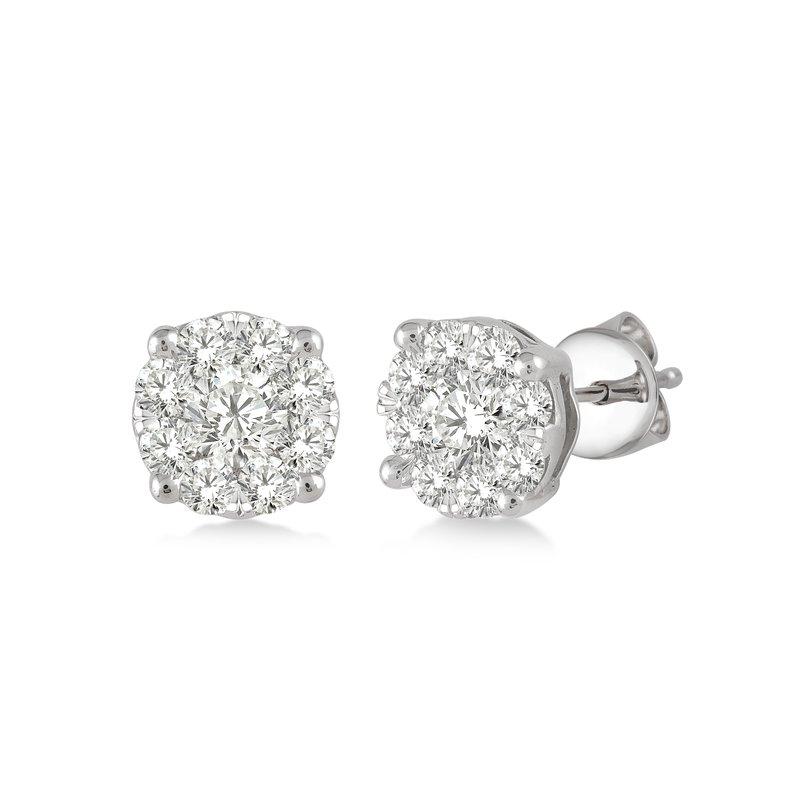 Holiday Lovebright Diamond Stud Earrings