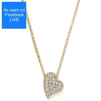 Roberto Coin Princess Heart Necklace