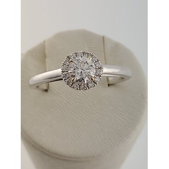 Forevermark 18kt Center of my Universe halo