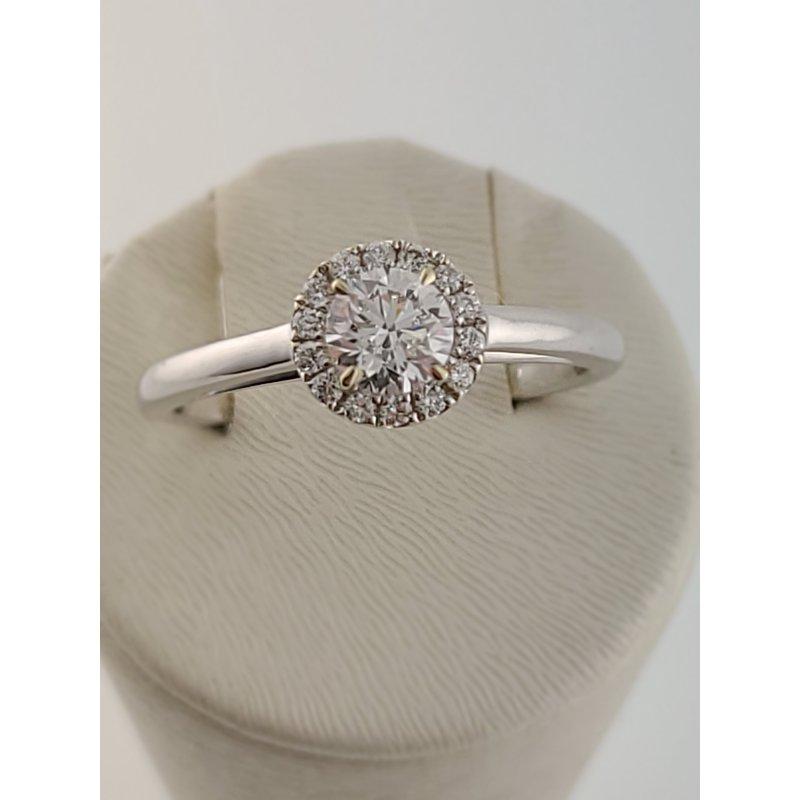 Spring Bridal Sale Forevermark 18kt Center of my Universe halo