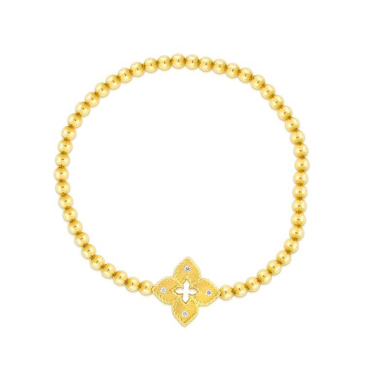 Roberto Coin Diamond Petite Venetian Bracelet