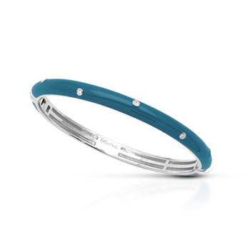 Belle Étoile Staccato Bangle in Teal