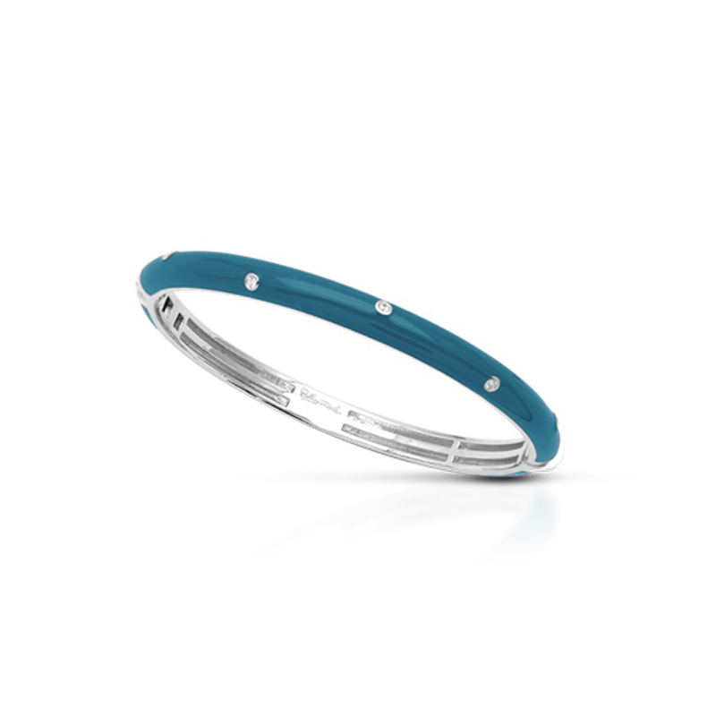As Seen on Social Media Belle Étoile Staccato Bangle in Teal