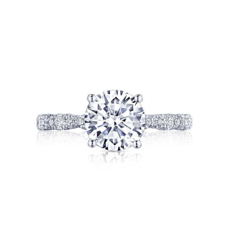 Our Top 20 Bridal Picks Tacori Pette Crescent Engagement Ring with marquise design band