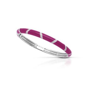 Belle Étoile Barre Bangle in Sangria