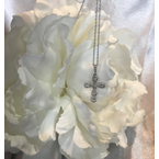 As Seen on Social Media WG Diamond Cross necklace