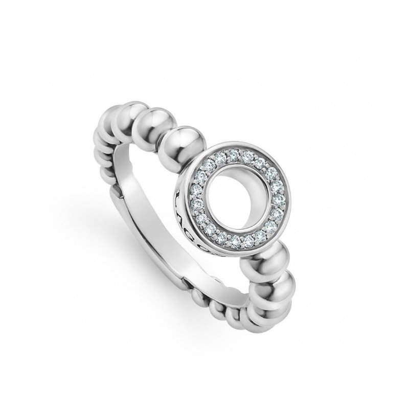 LAGOS Diamond Circle Ring