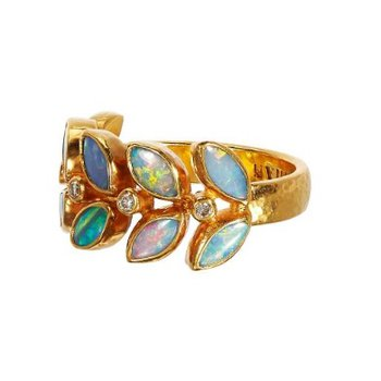 Wisteria Opal Ring