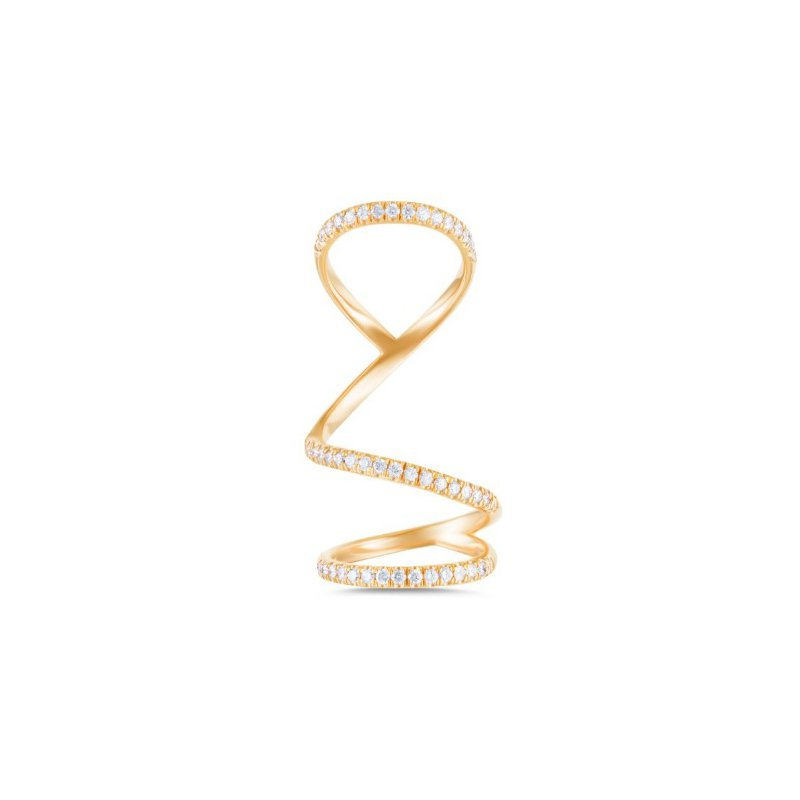 Arabesque Finger Ring