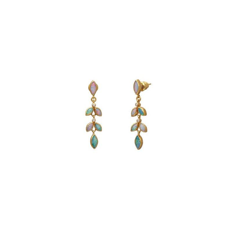 Gurhan Wisteria Opal Earrings