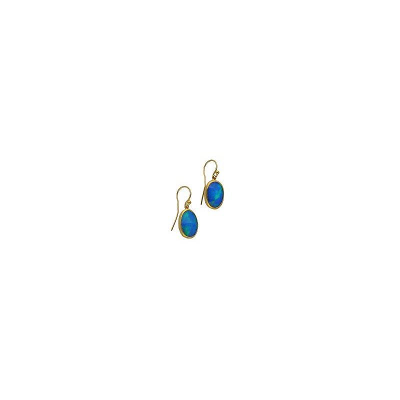 Gurhan Oval Opal Earrings