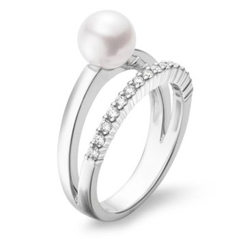 Akoya Cultured Pearl Ring