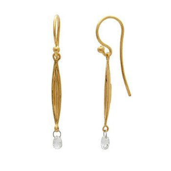 Wheat Drop Earrings