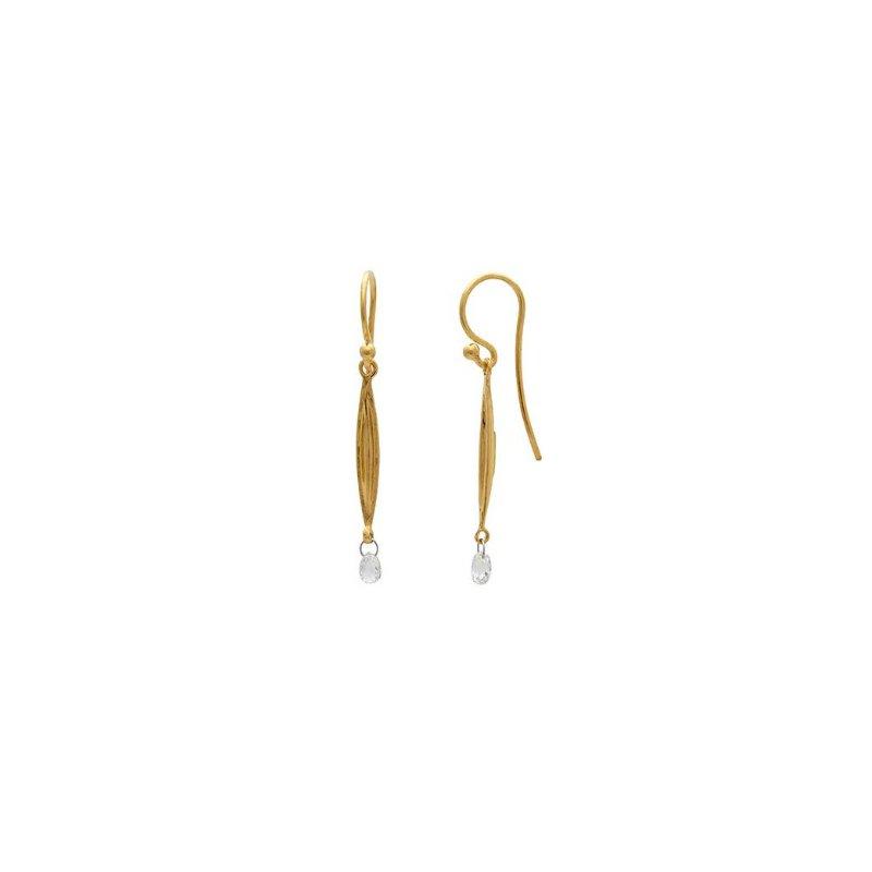 Gurhan Wheat Drop Earrings