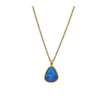 Pear Shape Opal Pendant