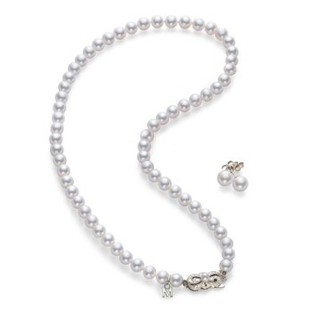 Akoya Cultured Pearl Two-Piece Gift Set
