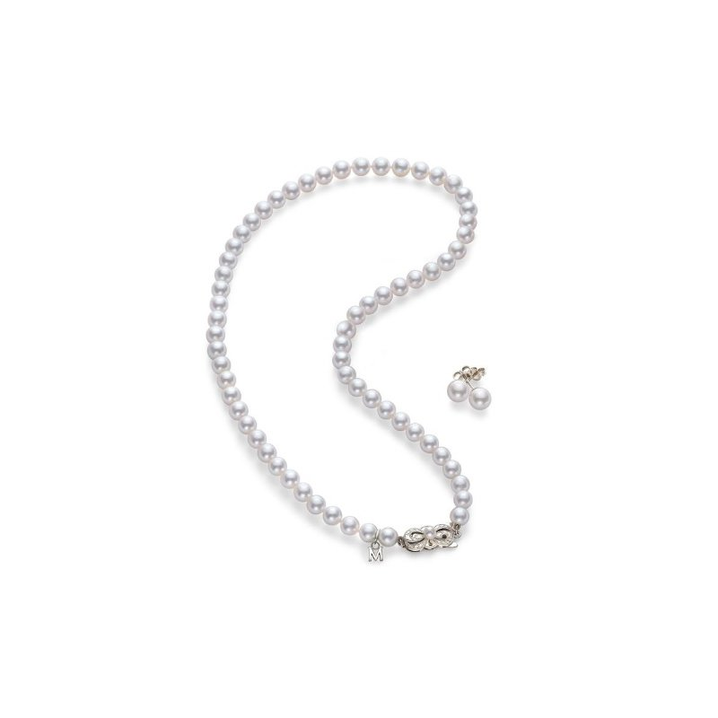 Mikimoto Akoya Cultured Pearl Two-Piece Gift Set