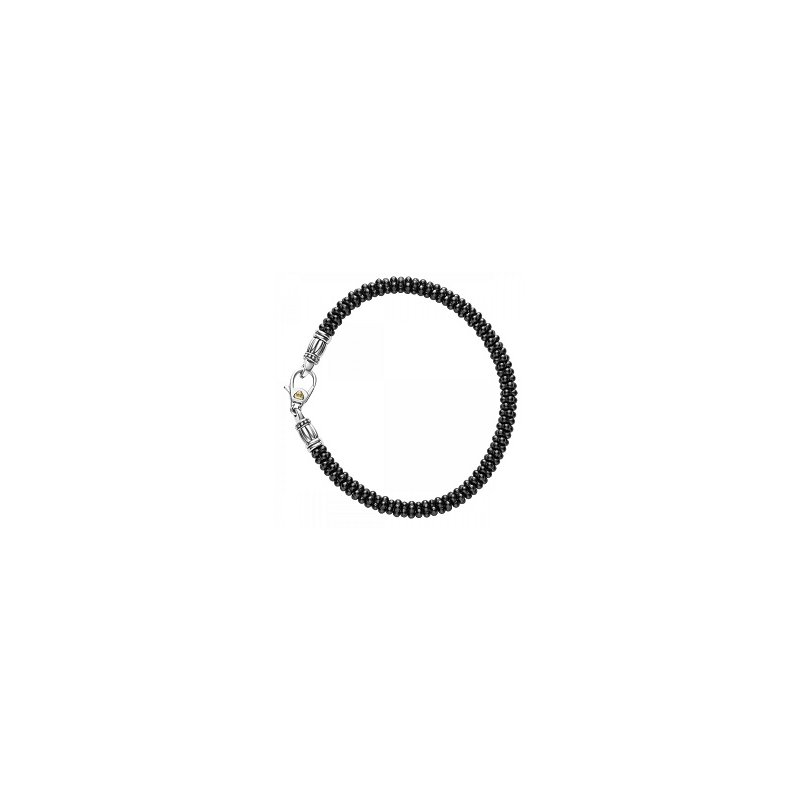 LAGOS Black Caviar Beaded Bracelet