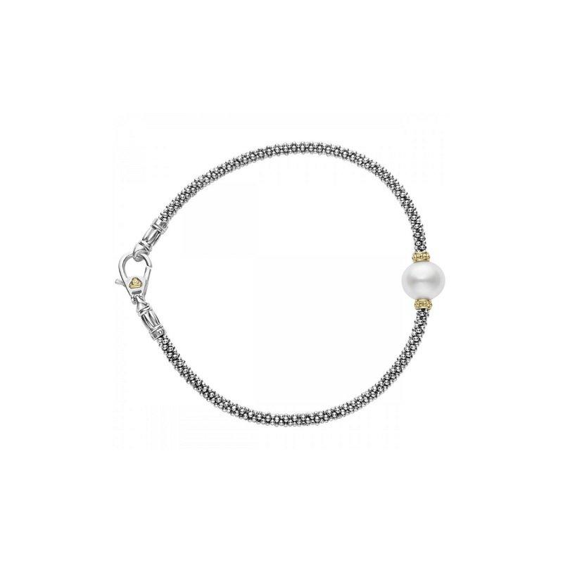 LAGOS Luna Pearl Caviar Bracelet