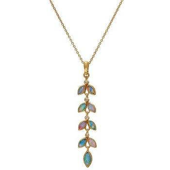 Wisteria Opal Pendant