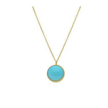 Amulet Hue Turquoise Pendant