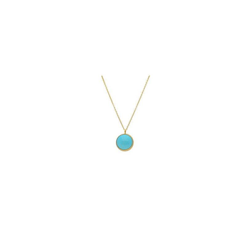 Gurhan Amulet Hue Turquoise Pendant