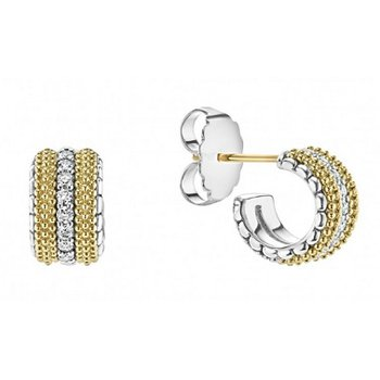 Diamond Lux Diamond Hoop Earrings