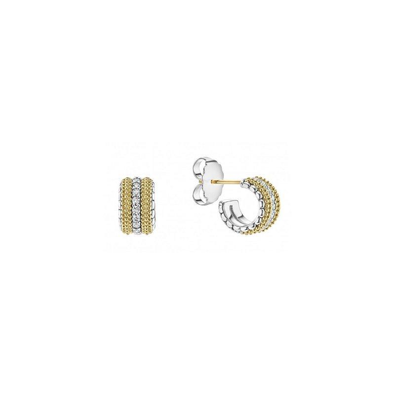 LAGOS Diamond Lux Diamond Hoop Earrings