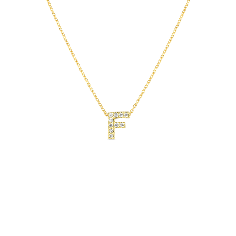Roberto Coin Love Letter F Necklace