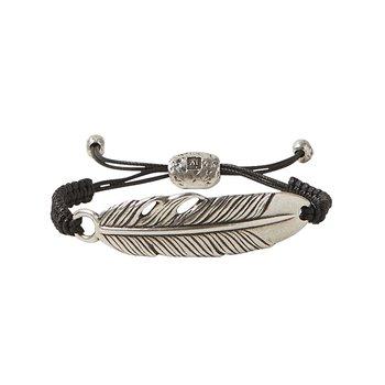 Large Feather Adjustable Bracelet