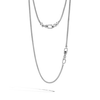 """Slim Chain 3.5mm Necklace Length 52"""""""