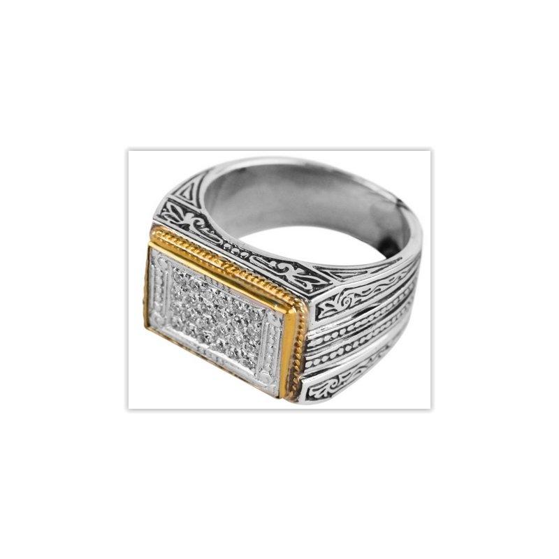 Konstantino Mens Collection Ring