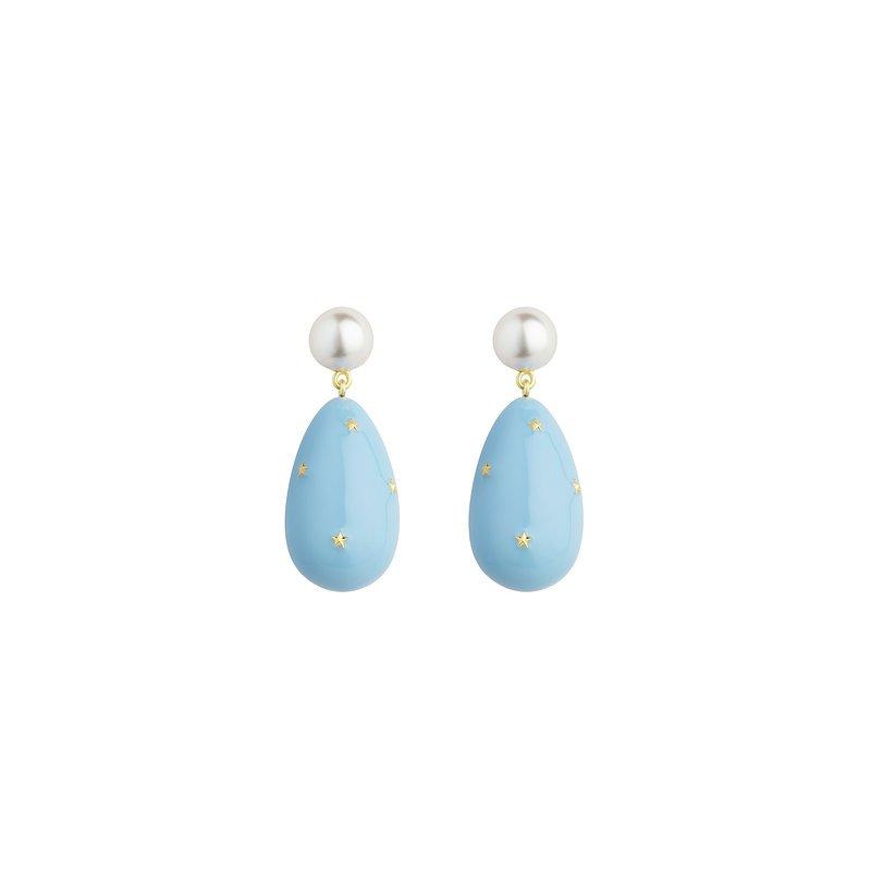 Eshvi Stars Drop Earrings