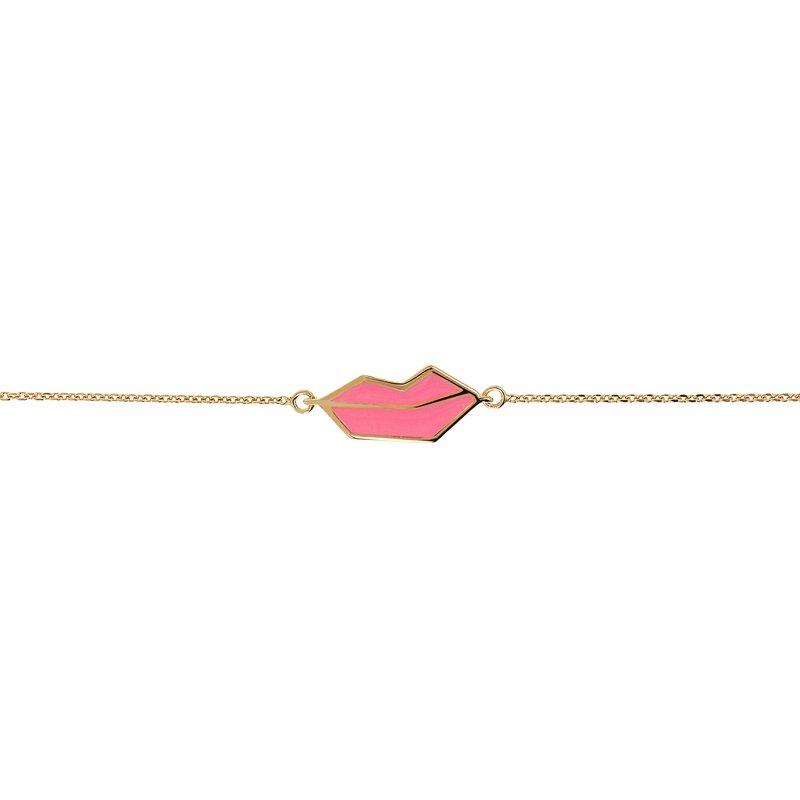 Netali Nissim Mini Lips Bracelet