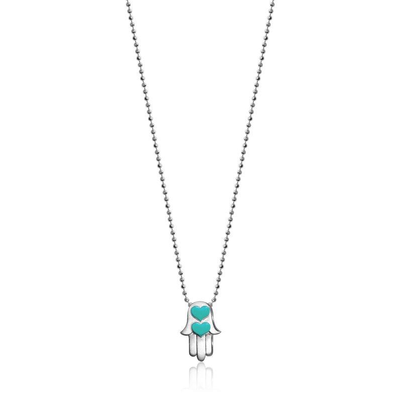 Alex Woo Hamsa Hand Necklace