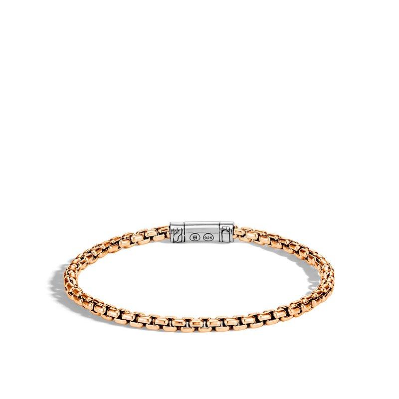 John Hardy Men's Box Chain Bracelet Size Medium
