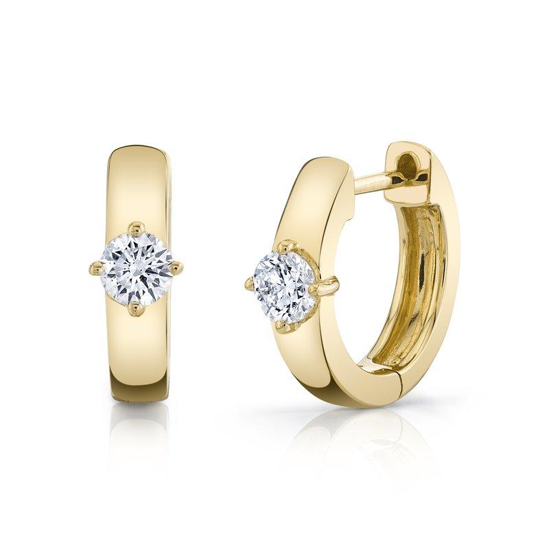 Anita Ko  Huggie Earrings