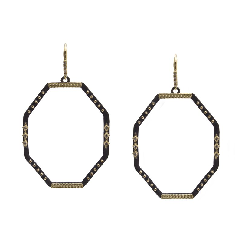 Armenta Drop Earrings Size Large Diameter 42mm