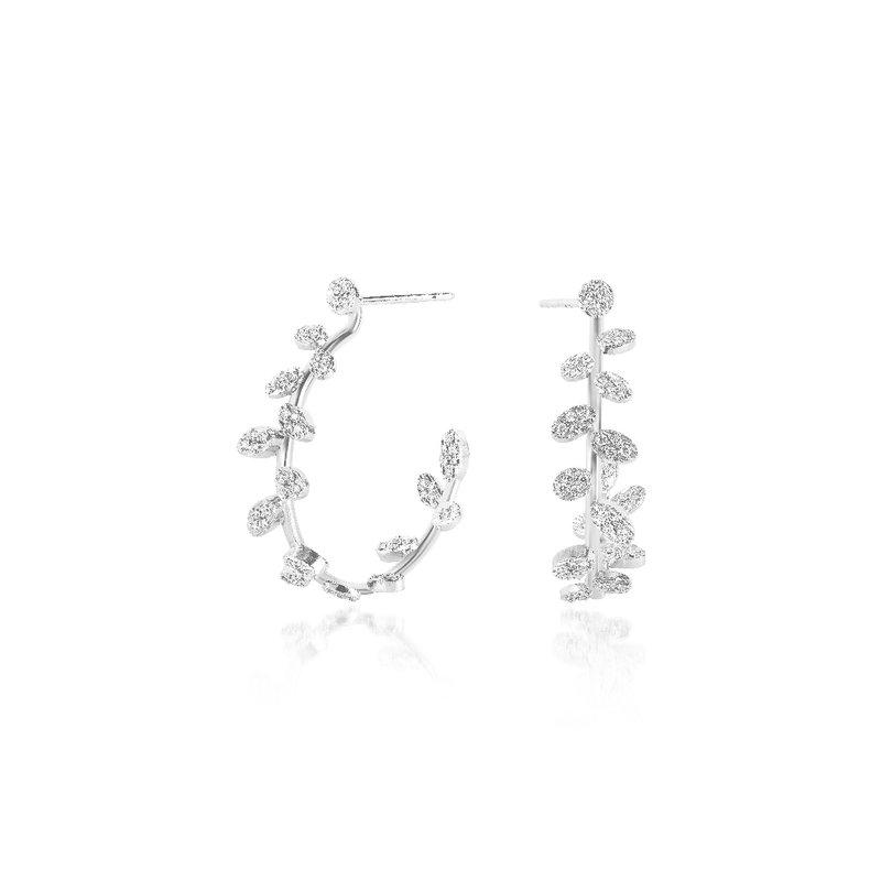 Luisa Rosas Hoop Earrings