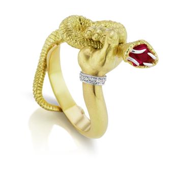 Snake Handler Ring