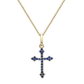 Baby Gothic Cross Pendant