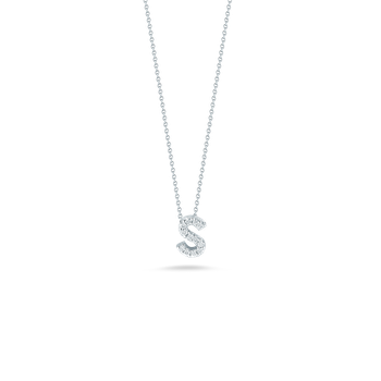 """Love Letter S Necklace Length 16""""adjustable to 18"""""""