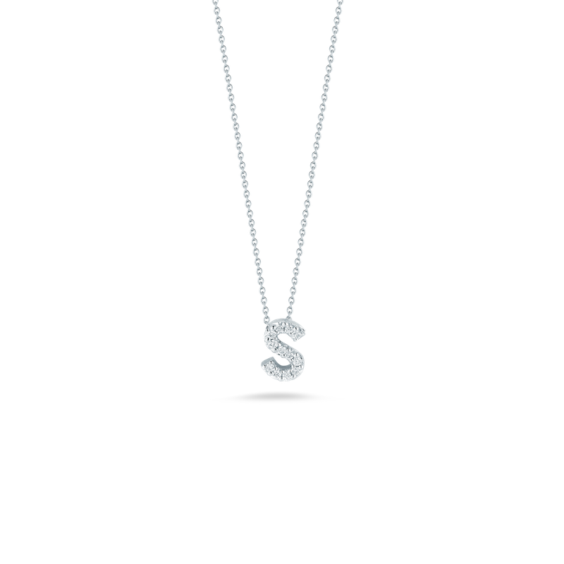 """Roberto Coin Love Letter S Necklace Length 16""""adjustable to 18"""""""